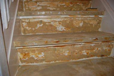 Vloerbedekking van trap verwijderen vloer gigant